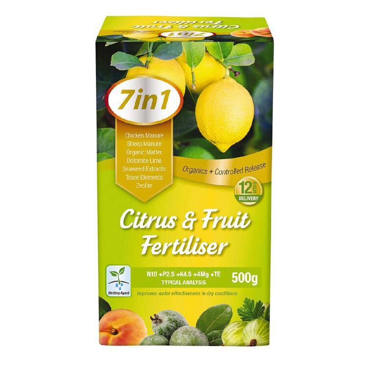 Daltons 7-in-1 Citrus & Fruit Fertiliser 500g, , hi-res
