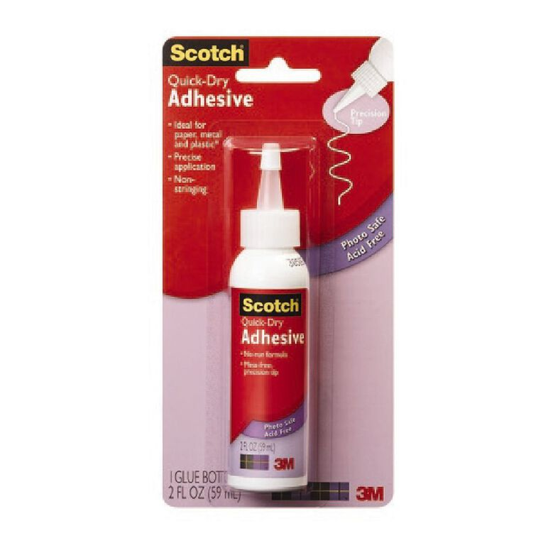 Scotch Quick Dry Tacky Adhesive, , hi-res