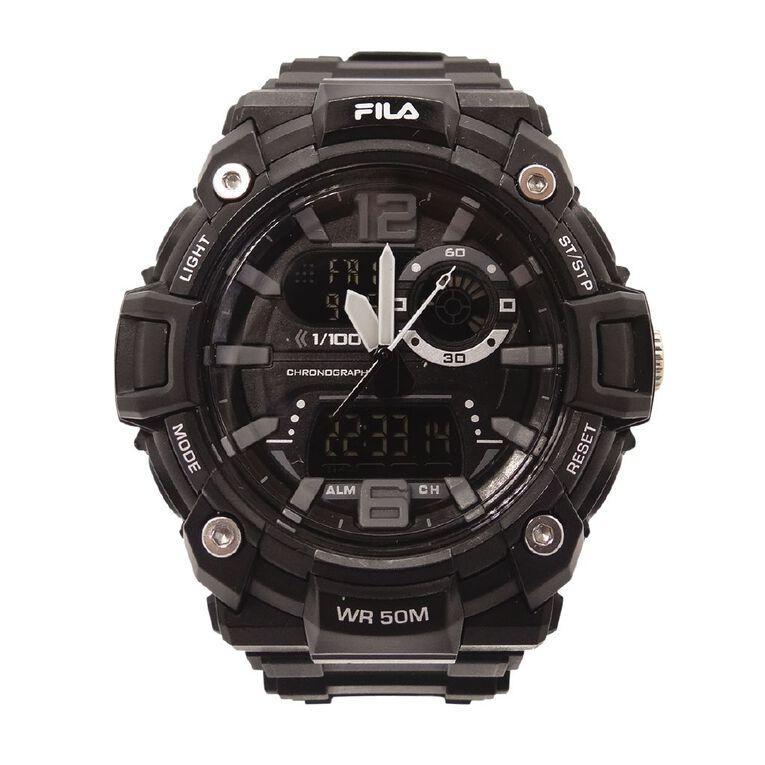 Fila Analogue Digital 5ATM Water Resistant Watch, , hi-res