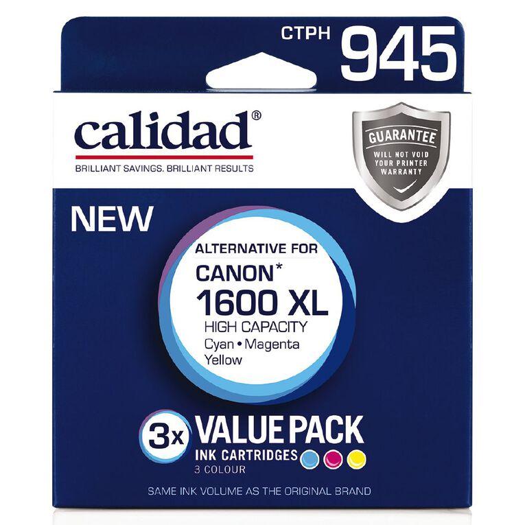 Calidad Canon PGI-1600XL Cyn Mag Yel 3 Pack, , hi-res