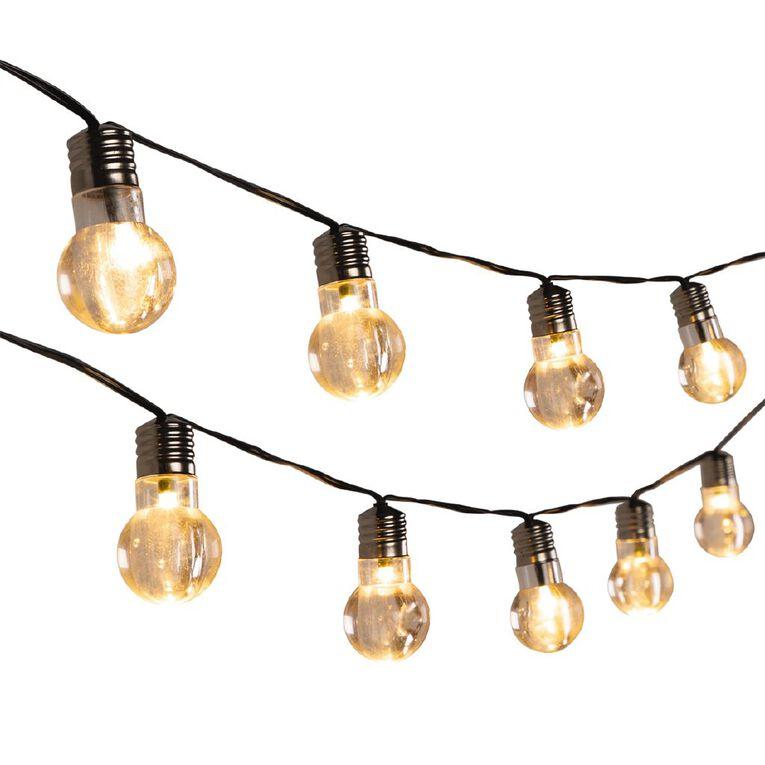 Kiwi Garden Solar Bulb String Lights 20 LEDs, , hi-res