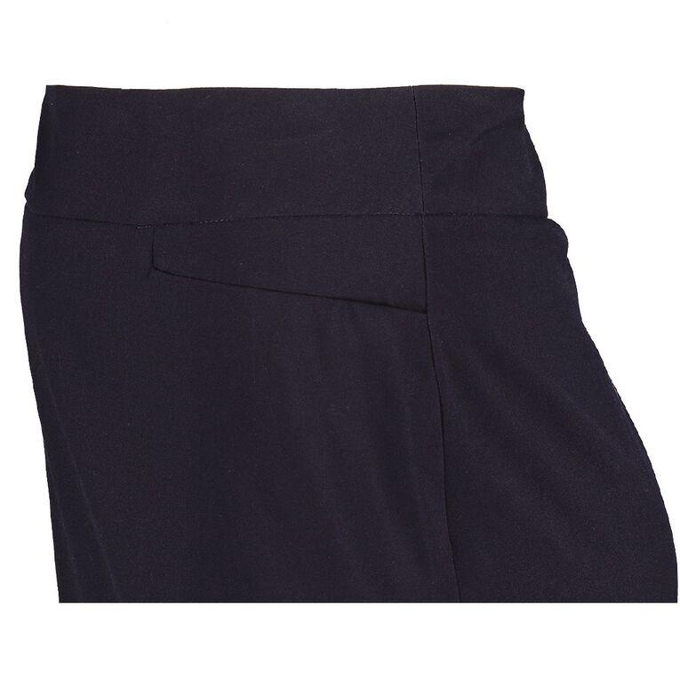 Schooltex Ladies' Classic Knee Length Skirt, Navy, hi-res