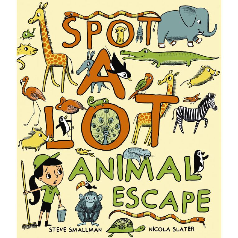 Spot a Lot Animal Escape by Steve Smallman, , hi-res