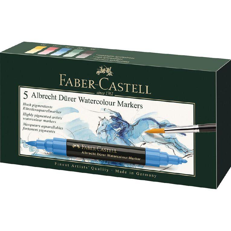 Faber-Castell Albrecht Durer Watercolour Markers - Box of 5, , hi-res