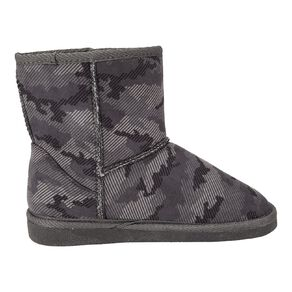 Young Original Kids' Print Slipper Boots