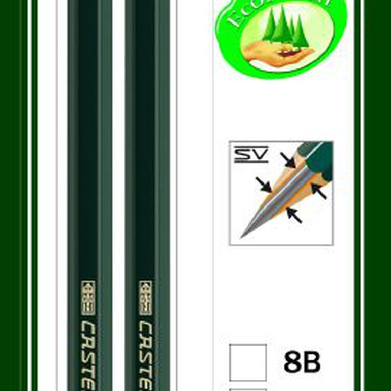Faber-Castell Drawing Pencil 9000 HB 2 Pack, , hi-res