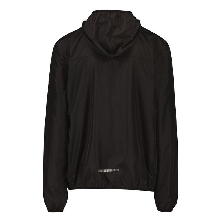Active Intent Men's Packable Jacket, Black, hi-res