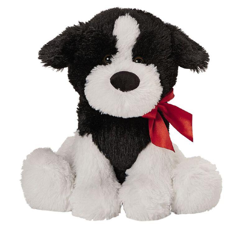 Play Studio Bowtie Dog Plush Assorted 30cm, , hi-res