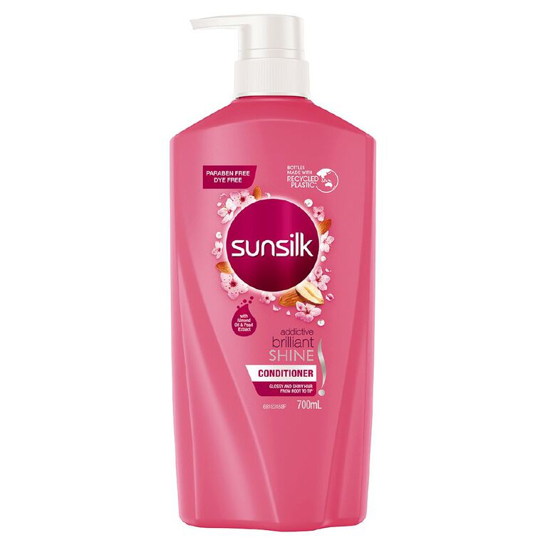 Sunsilk Conditioner Brilliant Shine 700ml, , hi-res