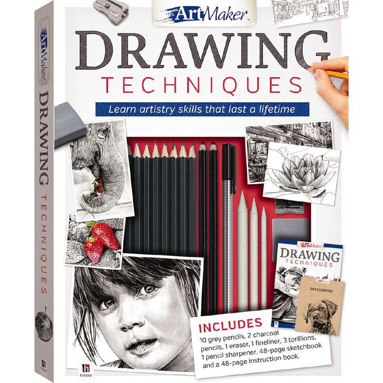 Artmaker Drawing Techniques, , hi-res