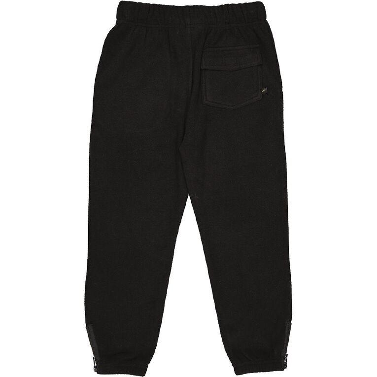 Back Country Microfleece Pants, Black PLAIN, hi-res