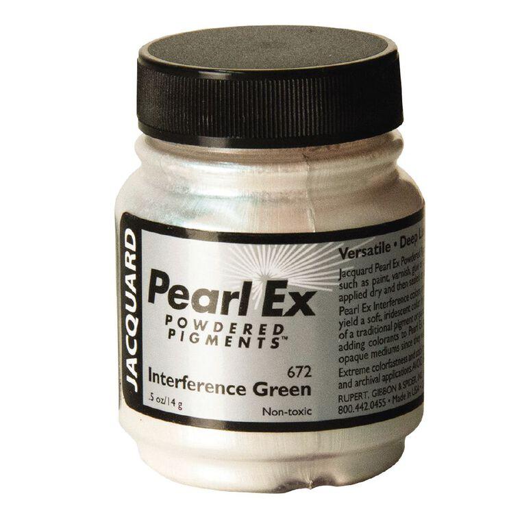 Jacquard Pearl Ex 14g Interference Green, , hi-res