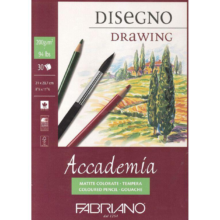 Fabriano Accademia 200gsm A4, , hi-res