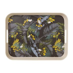 Living & Co Kiko Bamboo Rectangle Tray Printed