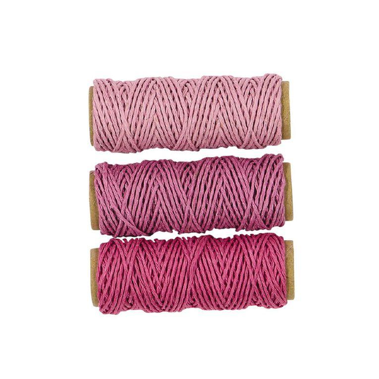 Uniti Hemp Cord Pinks 3 Pack, , hi-res