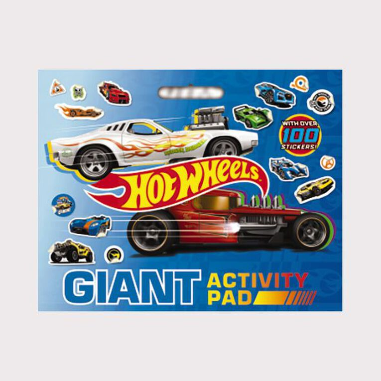 Hot Wheels: Giant Activity Pad, , hi-res image number null