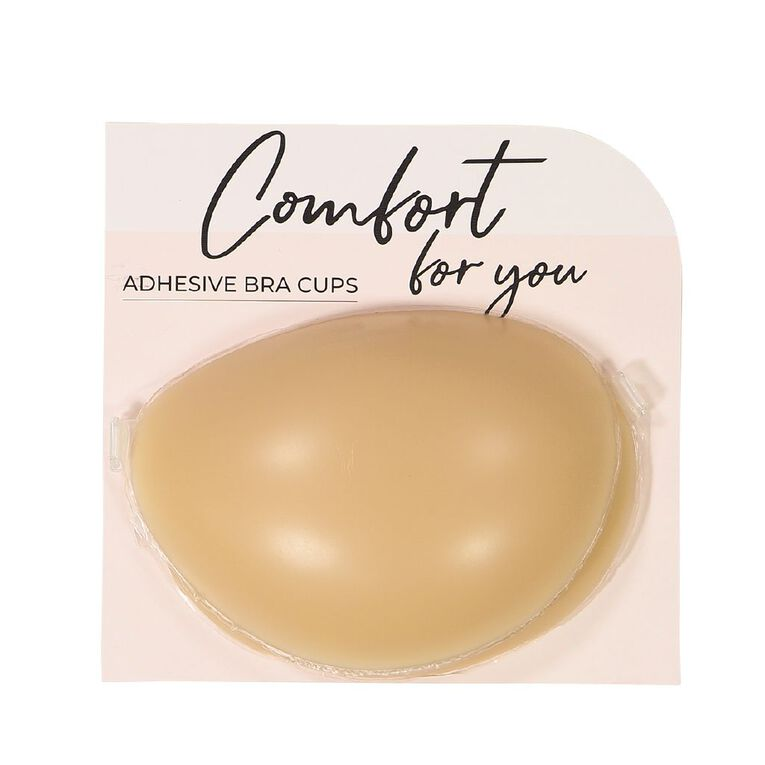 Comfort For You Adhesive Invisible Bra Cup, Natural, hi-res