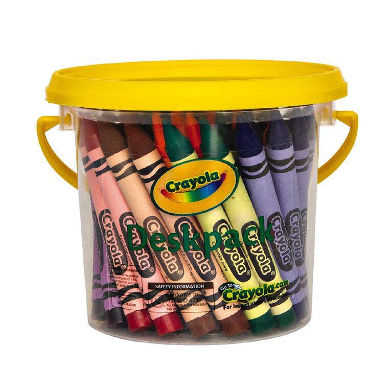 Crayola Large Crayons Deskpack 48 Pack, , hi-res