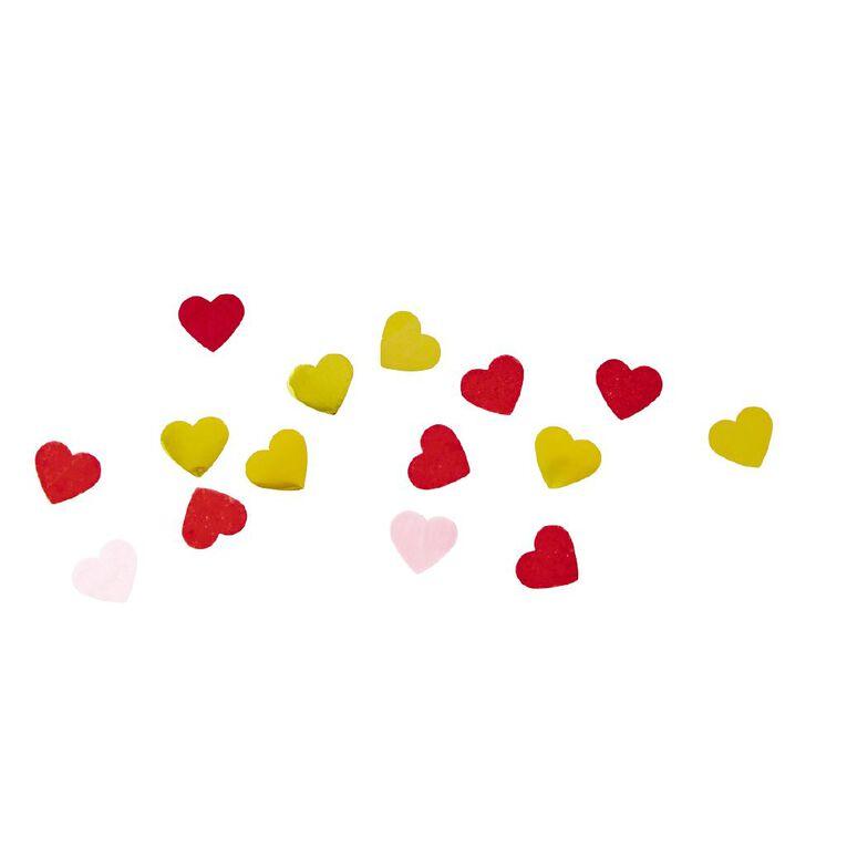 Party Inc Heart Shaped Paper/Foil Confetti 16g, , hi-res
