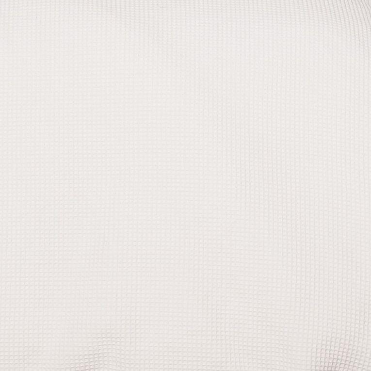 Living & Co Duvet Cover Set Luxury Waffle Optical White Double, White, hi-res