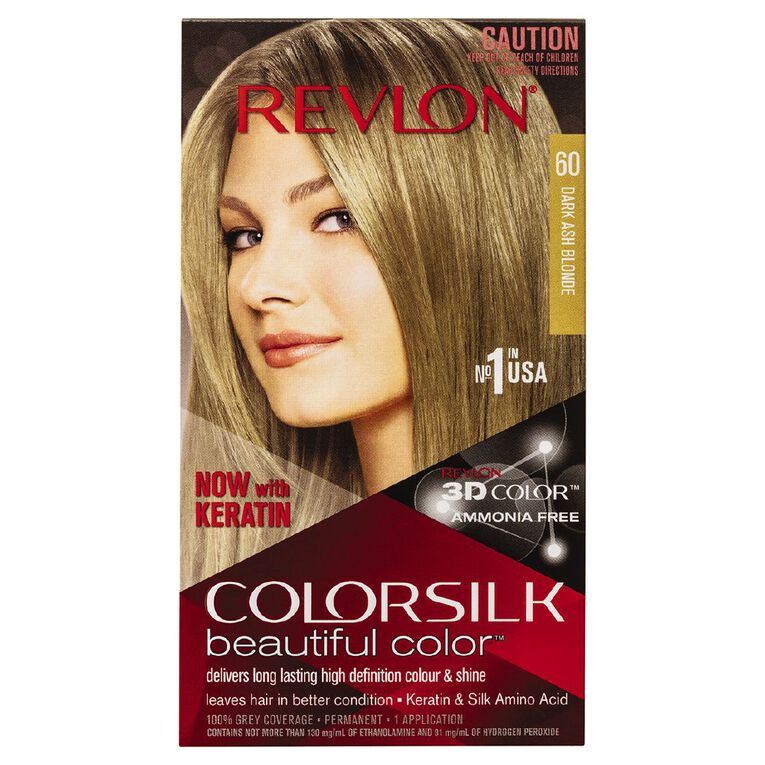 Revlon Colorsilk Dark Ash Blonde 60, , hi-res