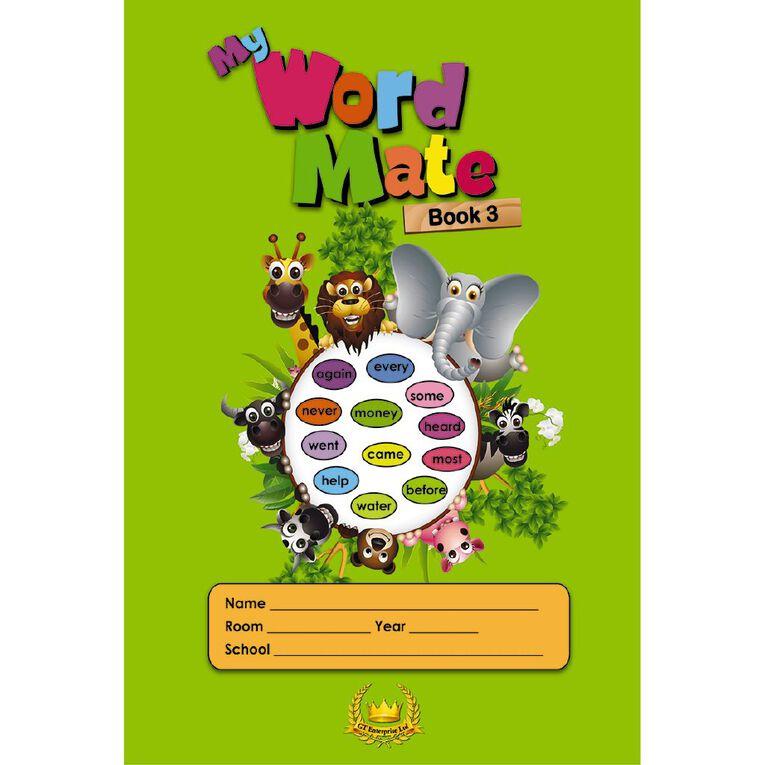 GT My Word Mate Book 3 Green, , hi-res