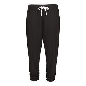 H&H Women's Plus 3/4 Jersey Harem Pants