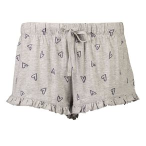 H&H Women's Knitted Frill Shorts