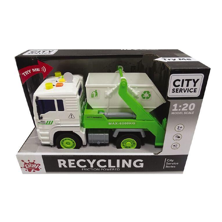 Play Studio Light & Sound 1:20 Recycling Truck, , hi-res