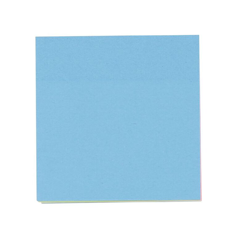 WS Yellow Sticky Notes 76mm x 76mm 400 Sheet Cube, , hi-res
