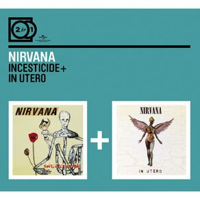 2 for 1 Incesticide/In Utero CD by Nirvana 2Disc
