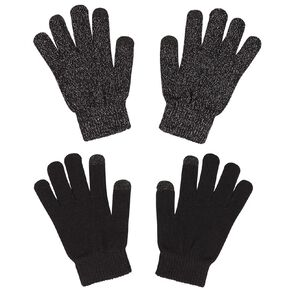 Young Original Kids' Touch Screen Gloves 2 Pack