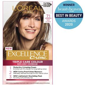 L'Oreal Paris Excellence 7.1 Dark Ash Blonde