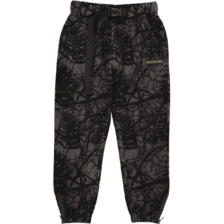 Back Country Microfleece Pants, Black CAMO, hi-res