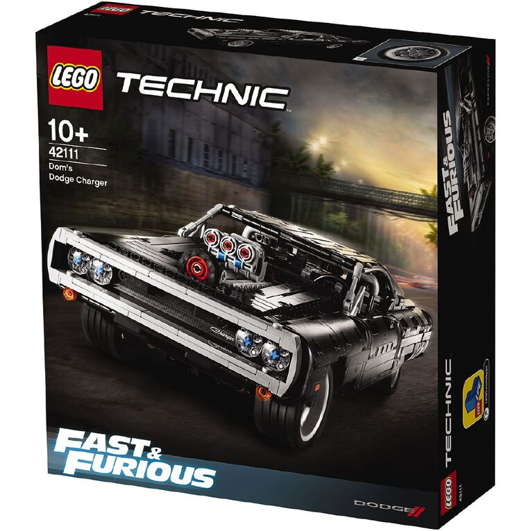 LEGO Technic Dom's Dodge Charger 42111, , hi-res