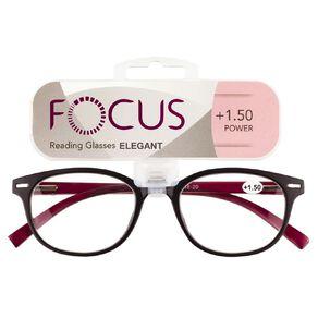 Focus Reading Glasses Elegant Power 1.50