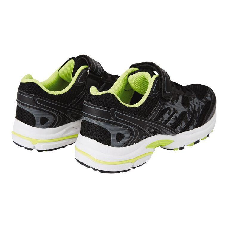 Active Intent Kids' Tam Shoes, Black/Yellow, hi-res