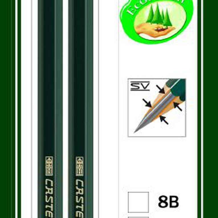 Faber-Castell Drawing Pencil 9000 4B HB 2 Pack, , hi-res