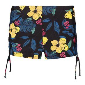 H&H Swim Women's Boyleg Bottom With Side Rouching