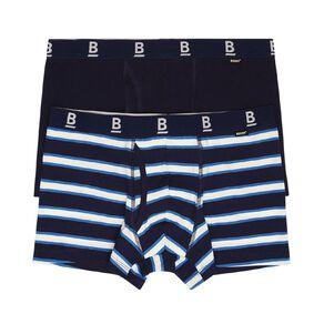 B FOR BONDS Men's Everyday Logo Trunks 2 Pack
