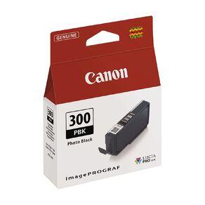 Canon Ink Lucia Pro PFI-300 Photo Black