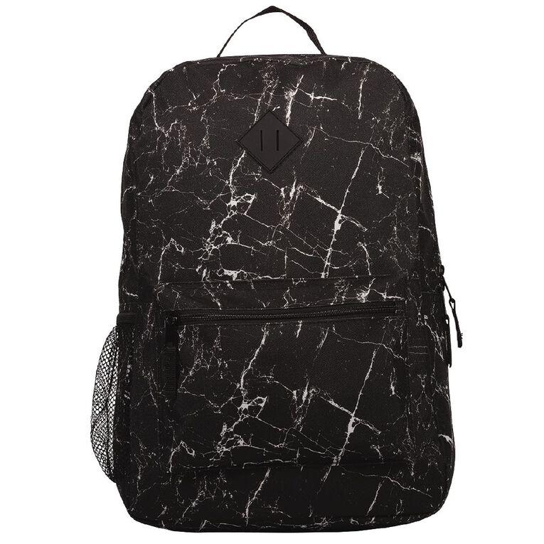 H&H Senior Printed Backpack, Grey Check, hi-res