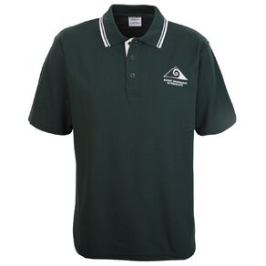Schooltex Mt Maunganui Intermediate Short Sleeve Polo with Embroidery