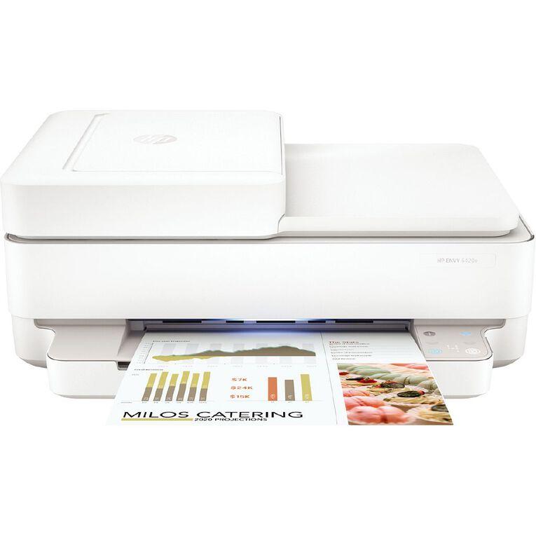 HP ENVY Pro 6420E AP OOV All-in-One Printer White, , hi-res