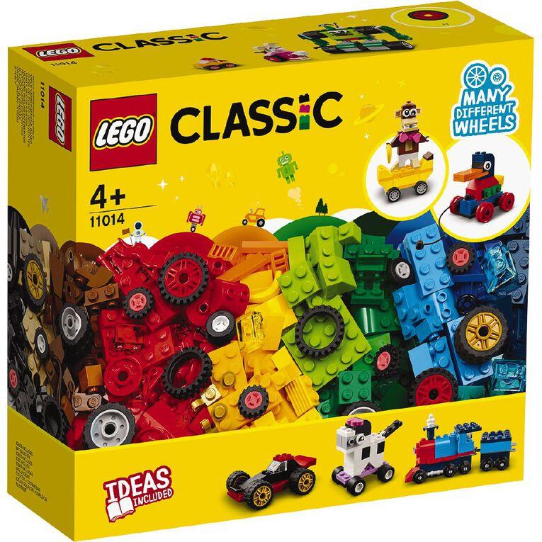 LEGO Classic Bricks and Wheels 11014, , hi-res