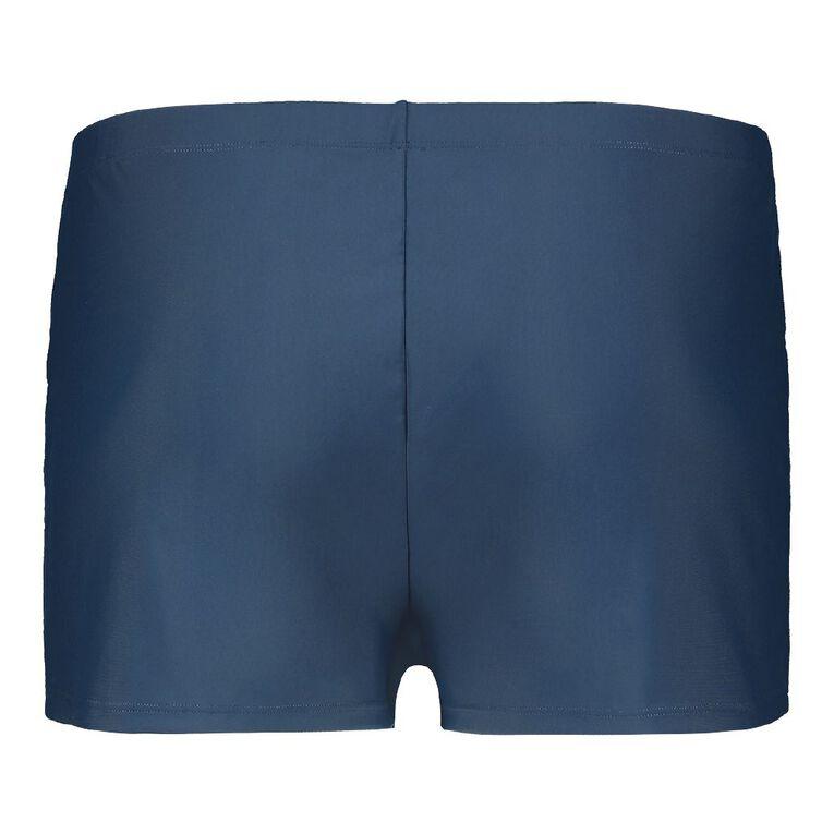 H&H Plus Swim Women's Basic Boyleg Shorts, Navy, hi-res