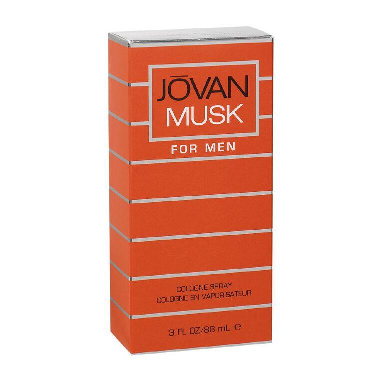 Jovan Musk Men Cologne Spray 88ml, , hi-res