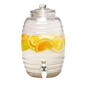 Living & Co Glass Drinks Dispenser 5.2L