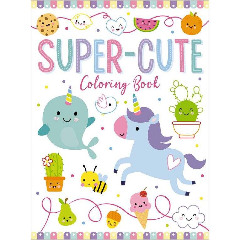 Colour Your Own Super-Cute Unicorn Squishy, , hi-res