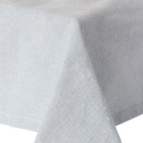 Living & Co Cotton Tablecloth 150cm x 220cm Blue